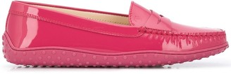 Tod's Round Toe Penny Loafers