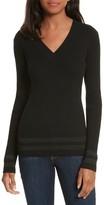 Frame Women's Metallic Knit Sweater