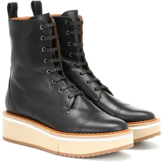 Clergerie British leather ankle boots