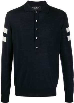 Hydrogen long-sleeve polo shirt
