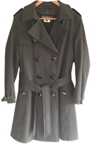 Salvatore Ferragamo Black Trench coat