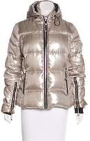 Philipp Plein Metallic Down Coat