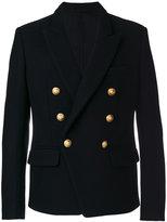 Balmain double-breasted blazer - men - Cotton/Polyamide/Wool - 50