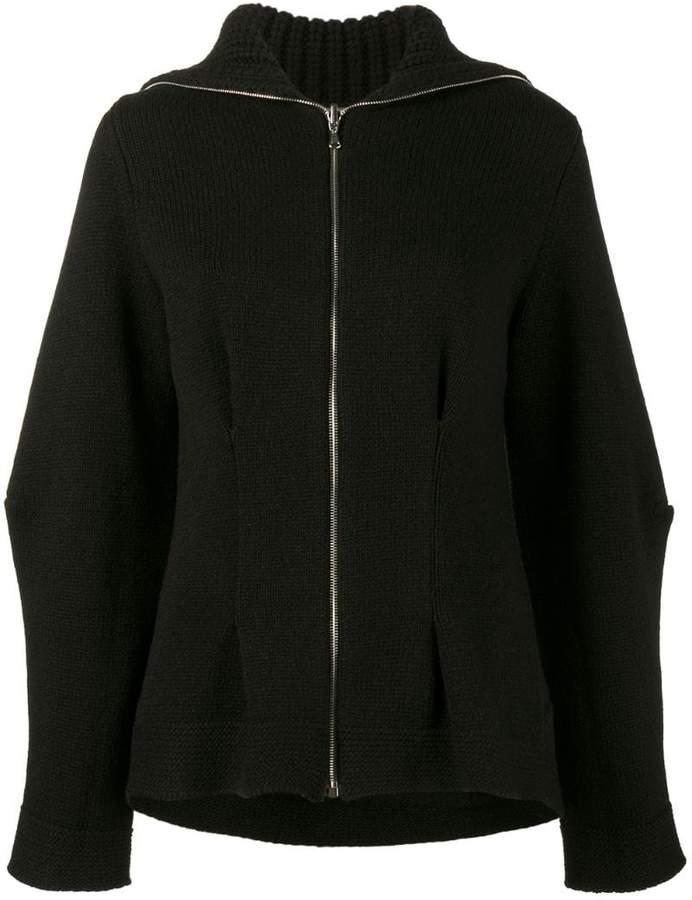 Alexander McQueen Long Sleeved Knitted Cardigan