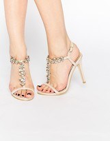 Ravel Embellished Heeled Sandals