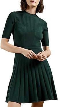 Ted Baker Olivinn Stitch Detail Dress