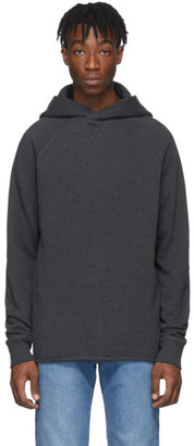 Levis Made and Crafted Grey Unhemmed Hoodie