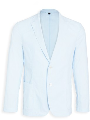 HUGO BOSS Light Blue Pinstripe Suit Jacket