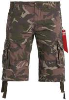 Alpha Industries Jet Shorts Woodland Camo