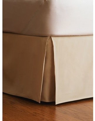 "Your Zone Tan 14"" Drop Bed Skirt"