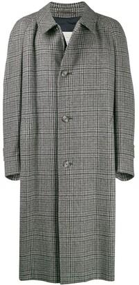 1990's Check Overcoat