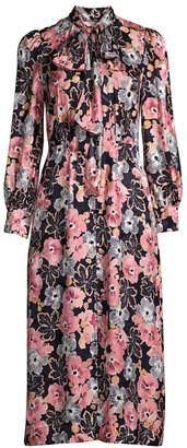 Rebecca Taylor Jardin Floral Dress