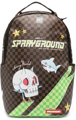 Sprayground Kid Graphic Print Backpack