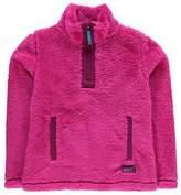Gelert Kids Yukon Micro Fleece Top Juniors Quarter Zip Sweatshirt Jumper Long