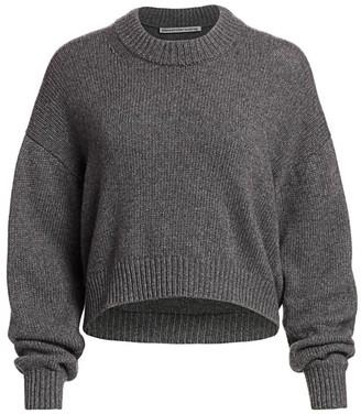 Alexander Wang Zipper-Trimmed Sweater