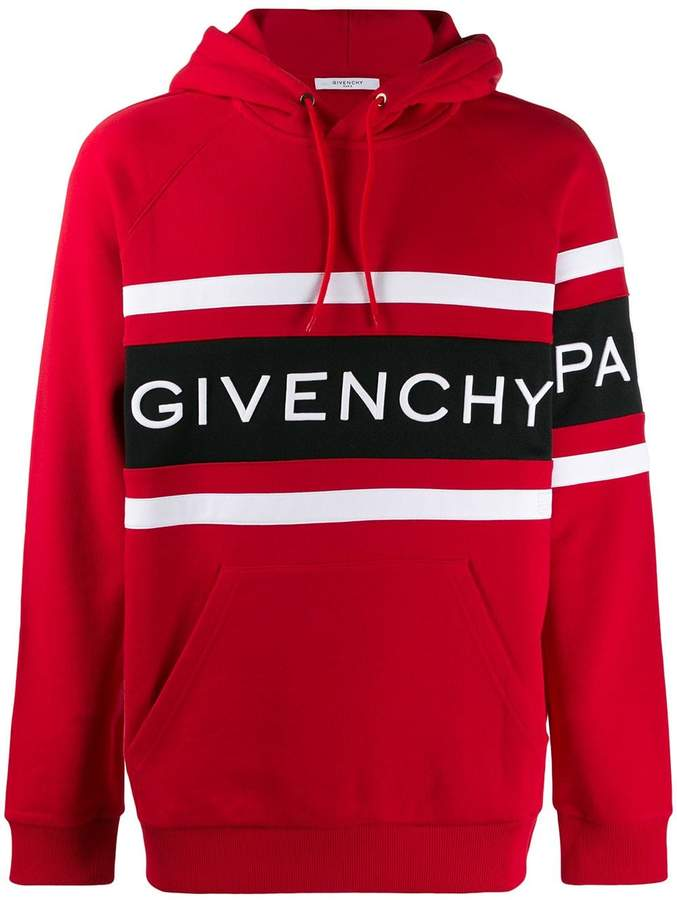 Givenchy embroidered logo hoodie