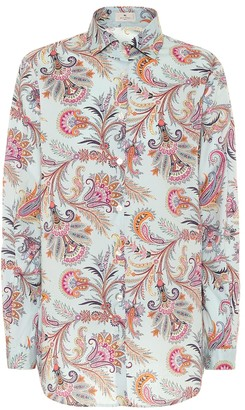 Etro Paisley cotton-twill shirt