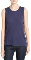 Majestic Filatures Women's Cotton & Cashmere Sleeveless Tee