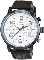 Tommy Hilfiger 1791235 Men's Watch Casual Sports Analogue Quartz Leather