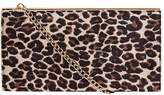 Dorothy Perkins Leopard Structured Clutch Bag