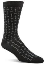 Cole Haan Geo Dot Cotton Blend Socks