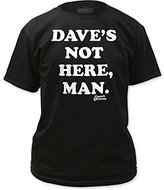 Impact Cheech & Chong Famous Comedy Duo Dave's Not Here Adult T-Shirt Tee