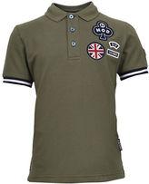 Ben Sherman Badge Pique Cotton Polo