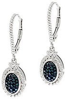 Affinity D As Is Color Diamond Drop Earrings, Ster. 1/4 cttw by Affinity