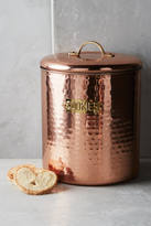 Anthropologie Hammered Copper Salt & Pepper Shakers