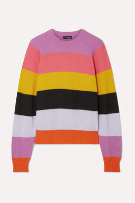 Stine Goya Magdalena Striped Knitted Sweater - Pink