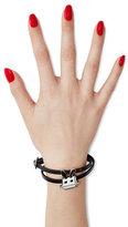 McQ Embellished Leather Bracelet