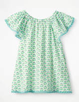 Boden Lace Trim Floaty Top