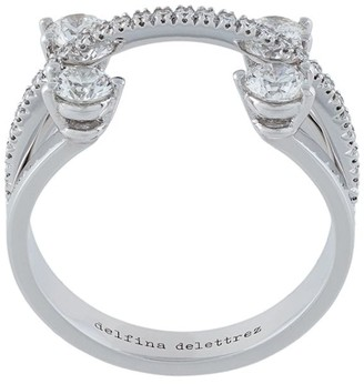 Delfina Delettrez 360 Linked Dots ring