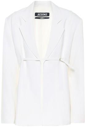 Jacquemus La Veste Sauge wool-blend blazer