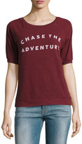Signorelli Chase The Adventure Graphic Tee, Maroon
