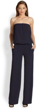 Ramy Brook Jenny Strapless Wide-Leg Jumpsuit
