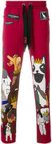 Dolce & Gabbana Dog print sweatpants