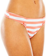 JCPenney Flirtitude Ruched Microfiber Thong Panties