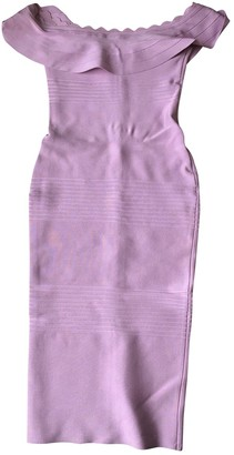 House Of CB Purple Cotton - elasthane Dress for Women