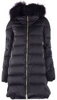 Montecore Zipped Hood Quilted Padded Coat