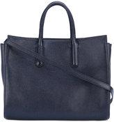 Max Mara classic tote - women - Calf Leather/cotton - One Size