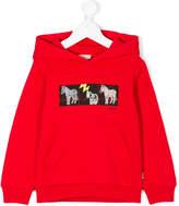 Paul Smith zebra graphic hoodie