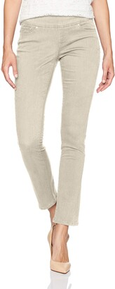 Jag Jeans Women's Petite Peri Straight Pull on Jean