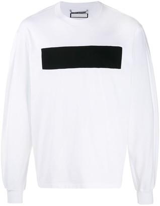 Random Identities long-sleeved front panel T-shirt