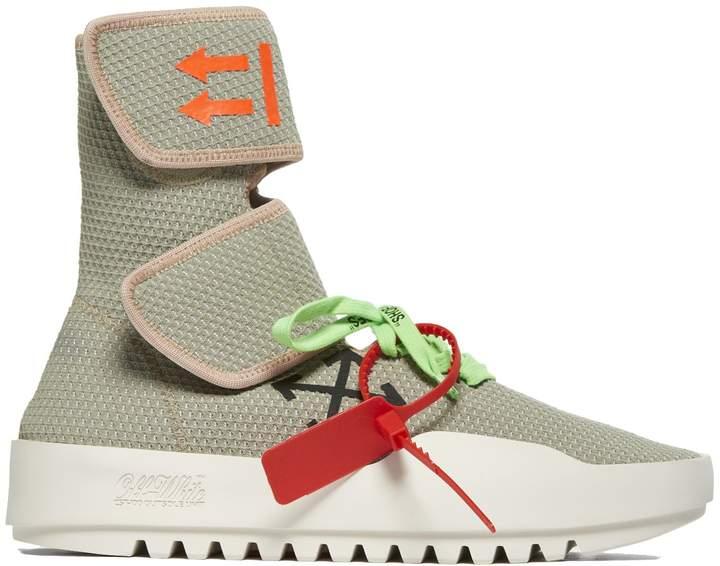 Off-White Off White Moto Wrap Hi Top Sneakers
