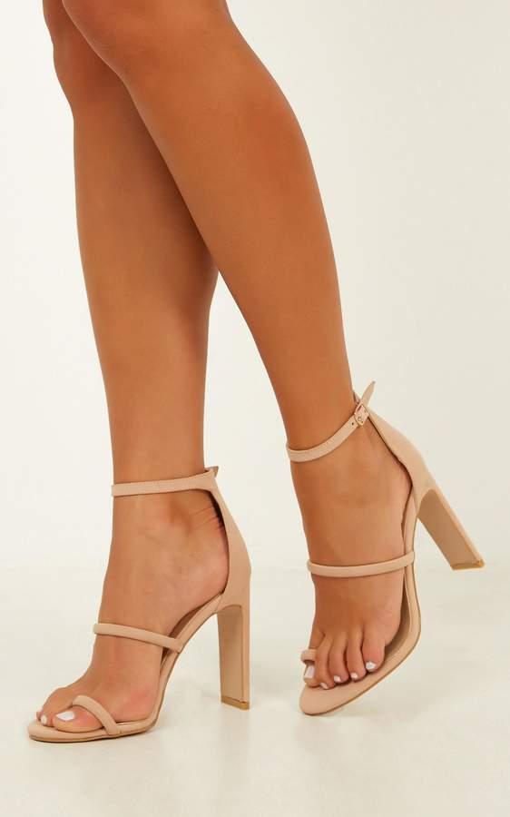 d0ba0282465 Billini - Daia heels in nude nubuck - 5 Billini