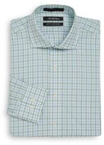 Saks Fifth Avenue Slim-Fit Two-Tone Gingham Cotton Dress Shirt