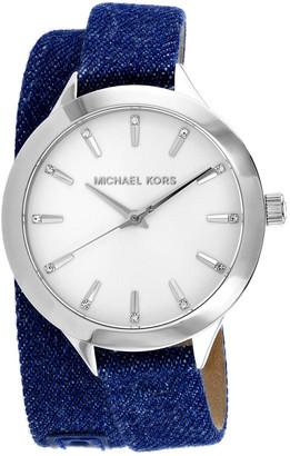 Michael Kors Women's Runway Slim Watch