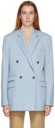 Stella McCartney Blue Wool Holden Blazer