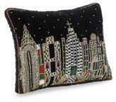 Sudha Pennathur NYC Skyline Embellished Pillow